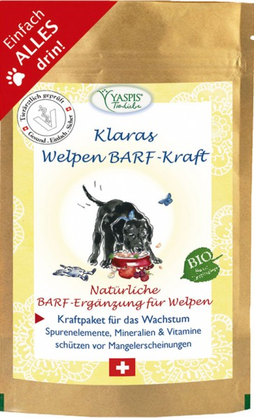 BARF-Welpen-Kraft